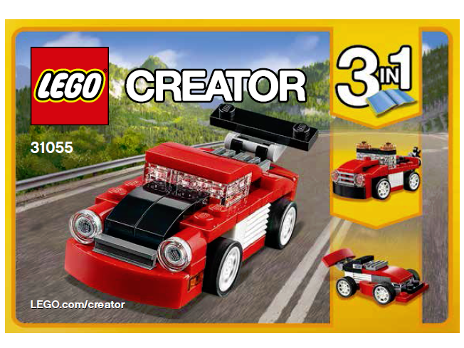 31055-1 LEGO Red Racer