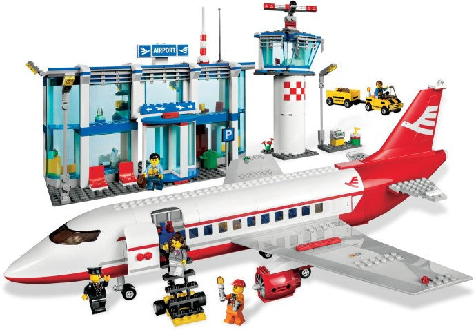 3182-1 LEGO (Used) Airport