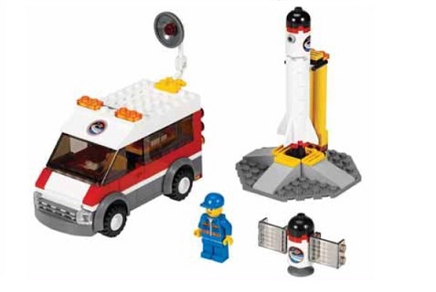3366-1 LEGO (Used) Satellite Launch Pad