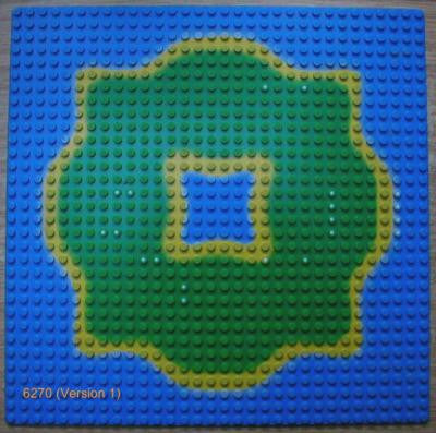 LEGO 32 x 32 (Used) Baseplate, Center Lagoon