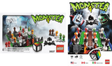 3837-99 LEGO (Used) Monster 4 Game