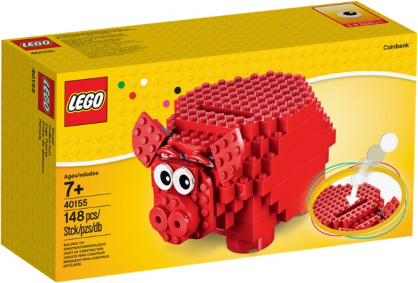 40155-1 LEGO  Piggy Coin Bank