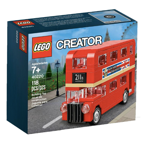 40220 LEGO Mini London Bus