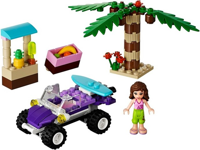 41010-1 LEGO (Used) Olivia's Beach Buggy