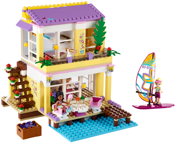 41037-1 LEGO (used) Stephanie's Beach House