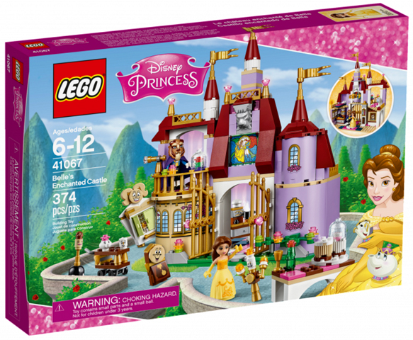 41067-1 LEGO Belle's Enchanted Castle
