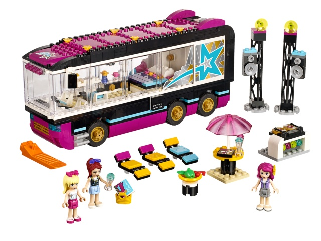 41106-1 LEGO (used) Pop Star Tour Bus