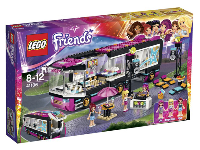 41106-1 LEGO Pop Star Tour Bus