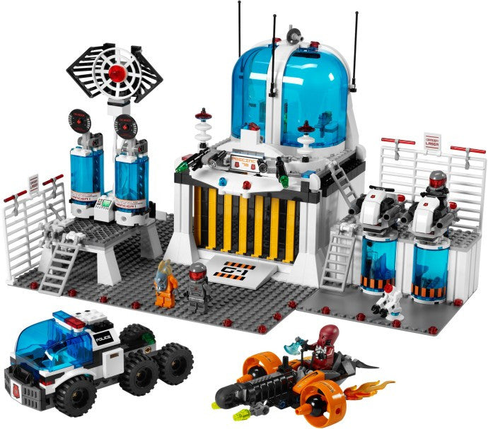5985-1 LEGO (Used) Space Police Central