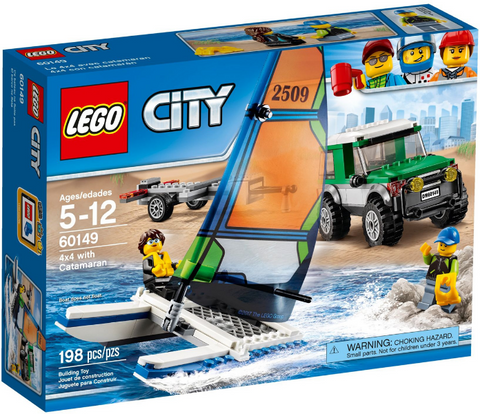 60149 LEGO 4x4 with Catamaran