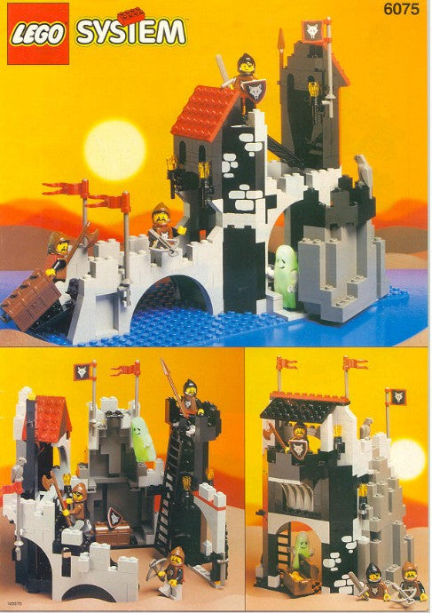 6075-1 LEGO (Used) Wolfpack Tower