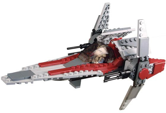 6205-1 LEGO (Used) V-wing Fighter