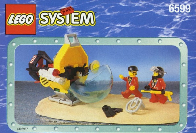6599-1 LEGO (Used) Shark Attack