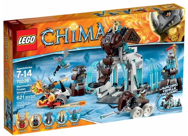 70226-1 LEGO Mammoth's Frozen Stronghold