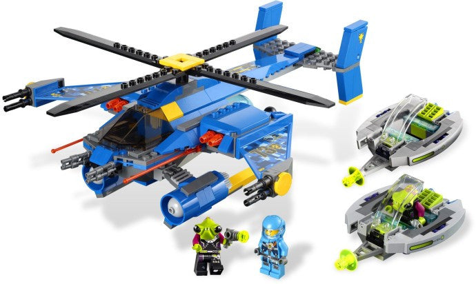 7067-1 LEGO (Used) Jet-Copter Encounter