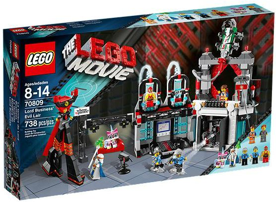 70809-1 LEGO Lord Business' Evil Lair