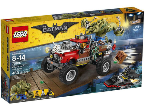 70907 LEGO Killer Croc Tail-Gator
