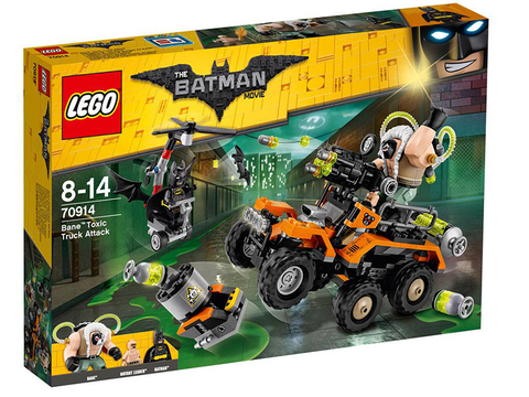 70914 LEGO Bane Toxic Truck Attack