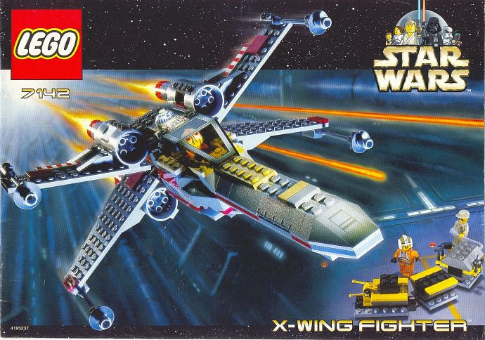 7142-1 LEGO (Used) X-wing Fighter