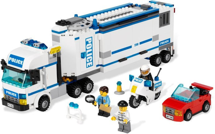 7288-1 LEGO (Used) Mobile Police Unit