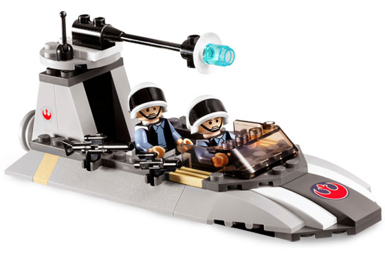 7668-1 LEGO (Used) Rebel Scout Speeder