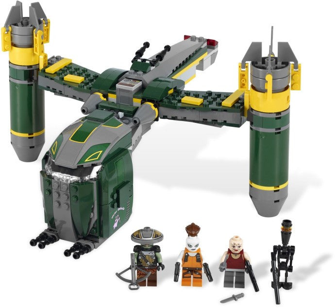 7930-1 LEGO (Used) Bounty Hunter Assault Gunship
