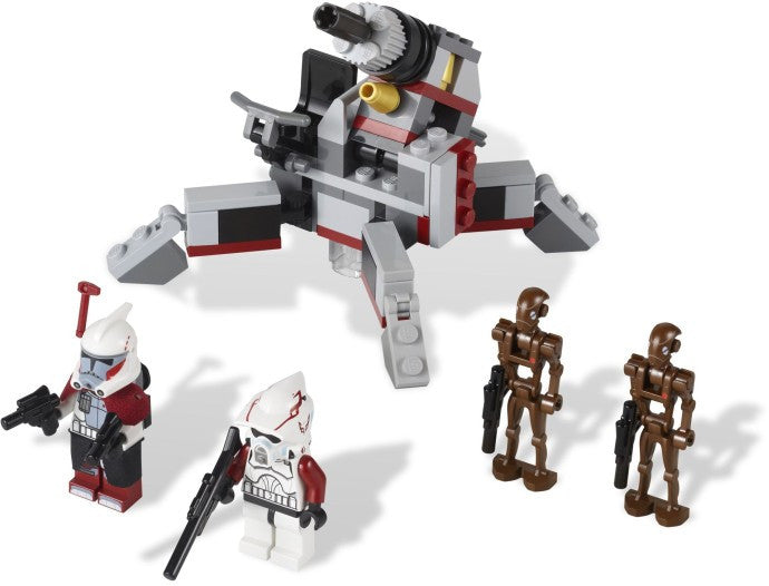 9488-1 LEGO (Used) Elite Clone Trooper & Commando Droid Battle Pack