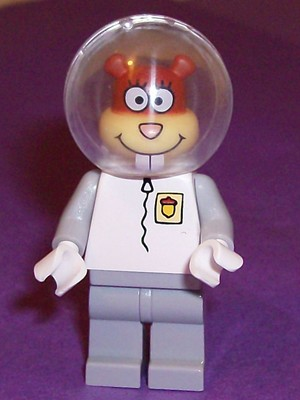LEGO bob012 (Used) Sandy Cheeks