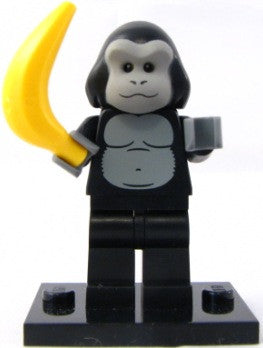 LEGO col03-12 Gorilla Suit Guy