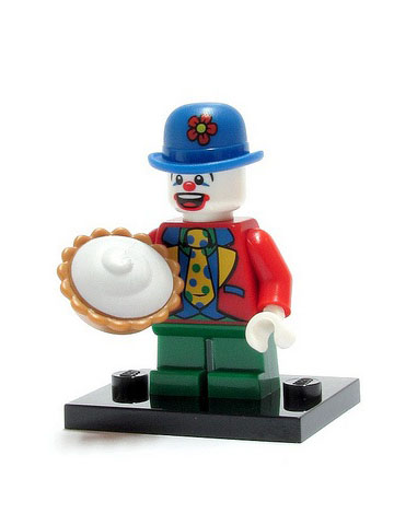 LEGO col05-9 Small Clown