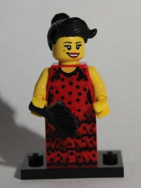 LEGO col06-6 Flamenco Dancer