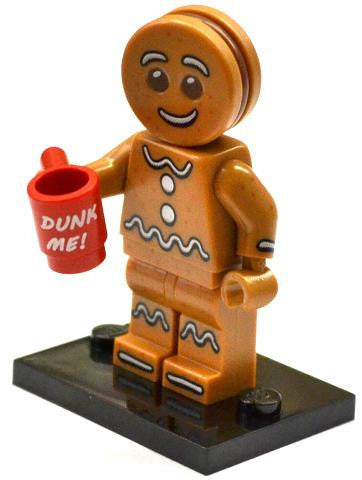 LEGO col11-6 Gingerbread Man
