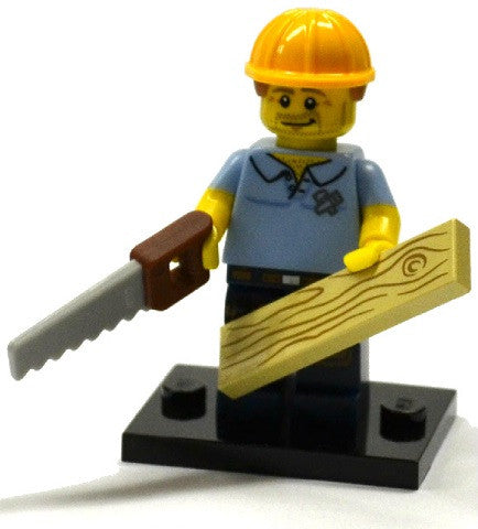 LEGO col13-9 Carpenter