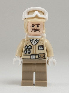 LEGO sw425 (Used) Hoth Rebel Tropper - Moustache
