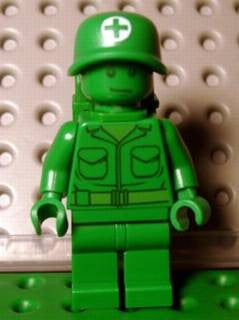 LEGO toy002 Green Army Man
