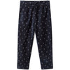 the animals observatory colt kids pants navy blue logo