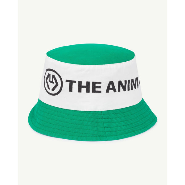 the animals observatory starfish baby onesize hat green logo