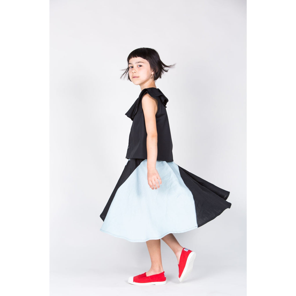 gray label pinafore dress - kodomo