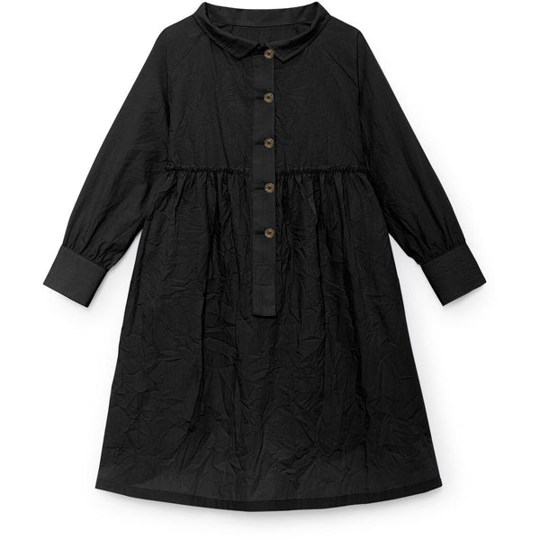 little creative factory valentina's button down dress - kodomo