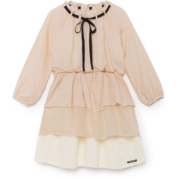 little creative factory ona's layer dress - kodomo