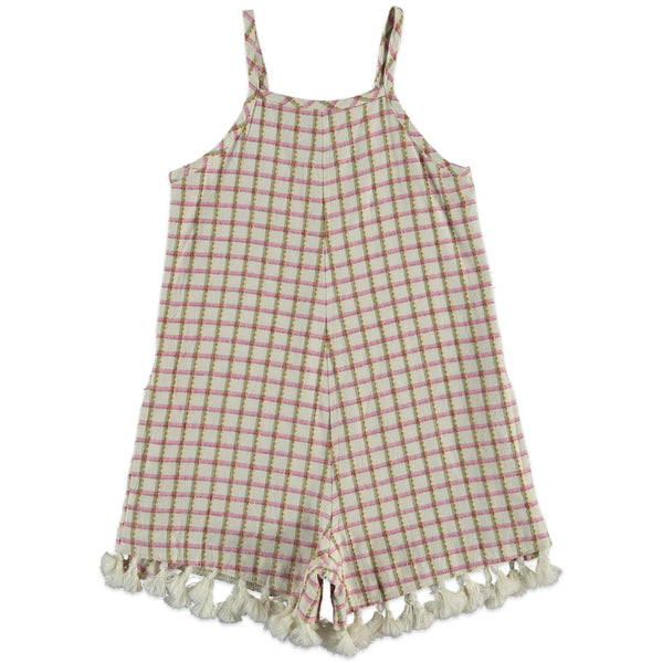 the new society romper check petale, beautiful kids and tweens dresses for spring summer 2020 from the new society at kodomo boston, free shipping