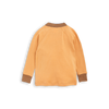 mini rodini oh la la wool long sleeve raglan tee beige - kodomo tops - children's clothing in boston, Mini rodini - bobo choses, atsuyo et akiko, belle enfant, mamma couture, moi, my little cozmo, nico nico