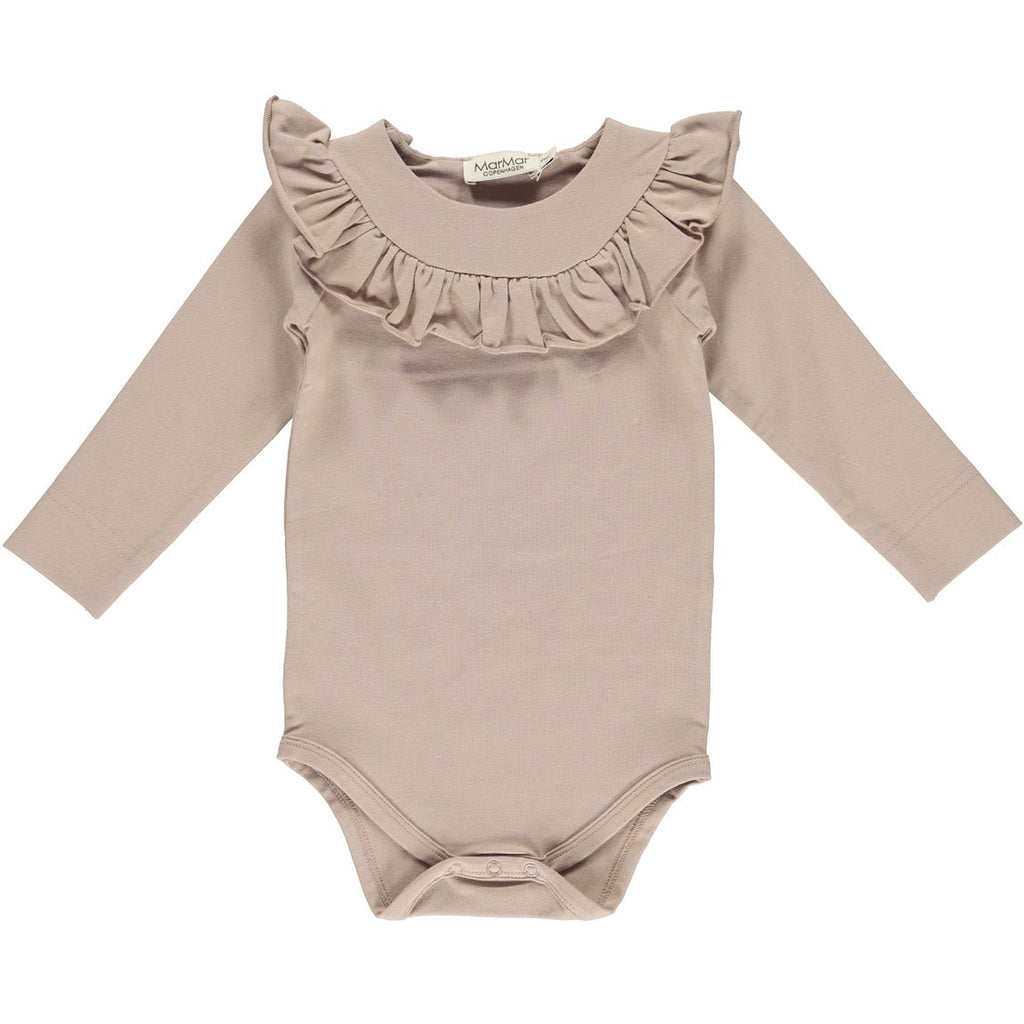 marmar copenhagen bibbi baby body burnt rose - kodomo