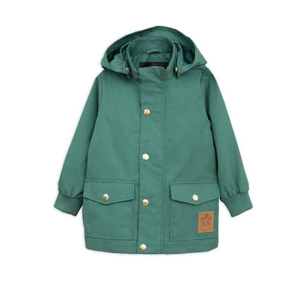 mini rodini green pico jacket - kodomo