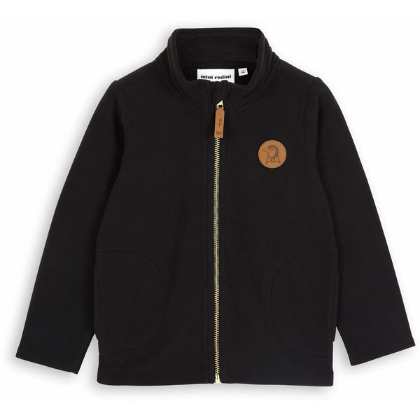 mini rodini fleece black jacket - kodomo