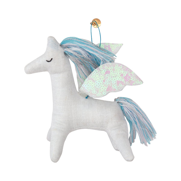 meri meri pegasus felt tree decoration - kodomo boston, fast shipping