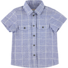 morley new spring summer boys collection hank hiro shirt in gingham - free fast shipping on all orders over $99 from kodomo