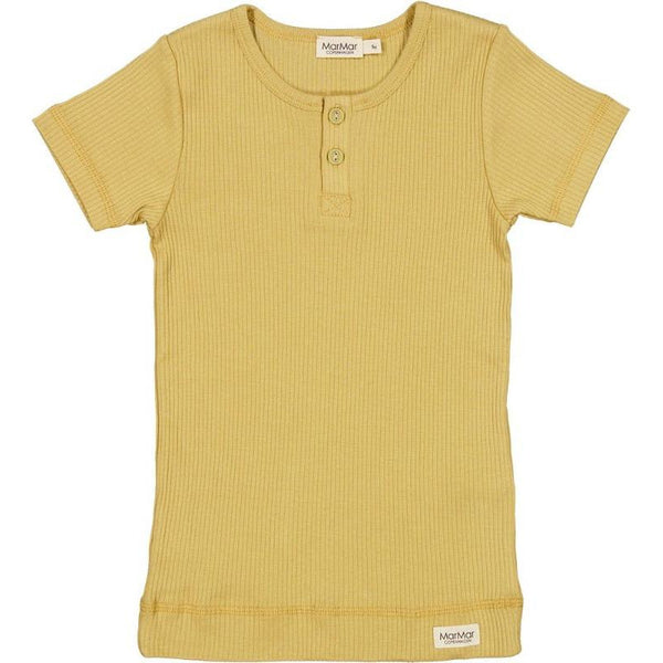 marmar copenhagen short sleeve tee hay, kid's sustainable everyday t-shirt