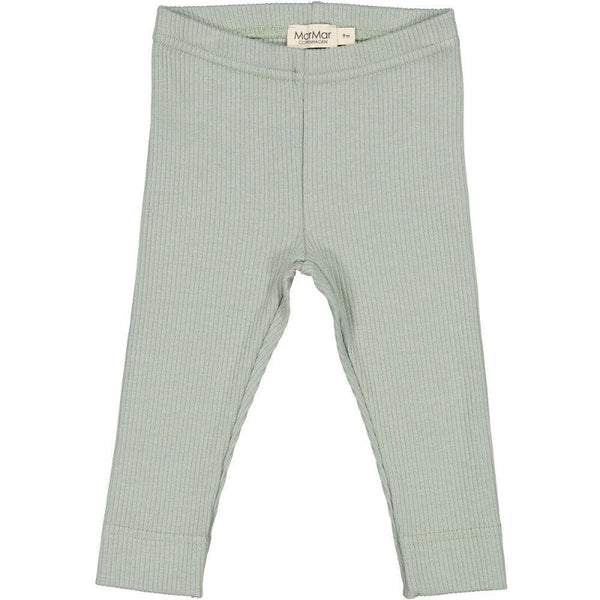 marmar copenhagen leggings sage, kid's organic cotton bottoms