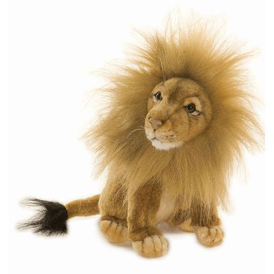 hansa lion sitting - kodomo boston toys for babies and kids